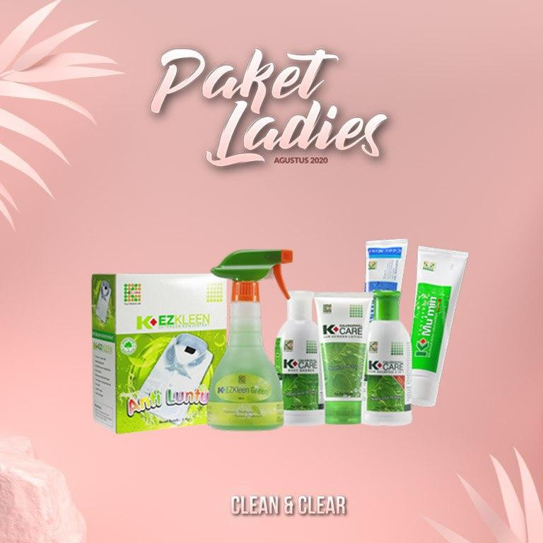 PAKET LADIES CLEAN & CLEAR